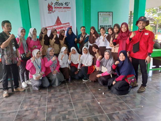 Kegiatan Aksi Donor Darah dalam menyambut HUT Kab. Sidrap ke-676