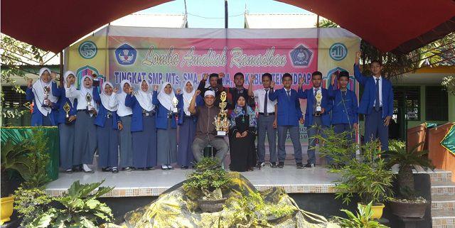Rohis Juara Umum Lomba Amaliah Ramadhan